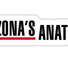 Calzona's Anatomy Sticker