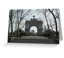 Views of Grand Army Plaza - Arch Greeting Card