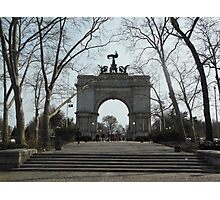 Views of Grand Army Plaza - Arch Photographic Print