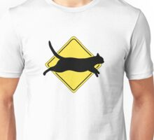 Cats Can Run up to 30 MPH Unisex T-Shirt