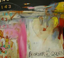 By Order of the Queen urban vibe print by JodiFuchsArt