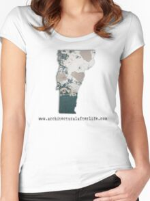 Vermont Urbex Women's Fitted Scoop T-Shirt