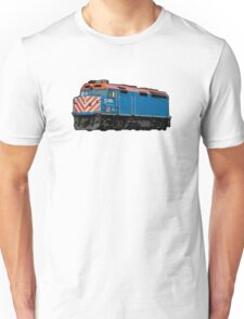 Comic Book Style Train Unisex T-Shirt
