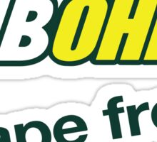 Sub Ohm Vape Fresh Sticker