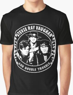 Stevie Ray Vaughan & Double Trouble Graphic T-Shirt