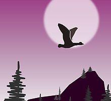 Purple Sky by Anastasiya Malakhova