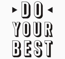 Do Your Best Kids Tee