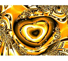 Heart of Gold Photographic Print