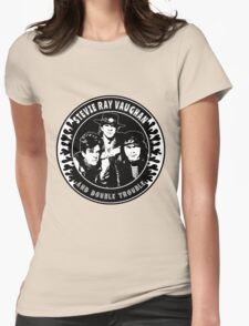 Stevie Ray Vaughan & Double Trouble Womens Fitted T-Shirt