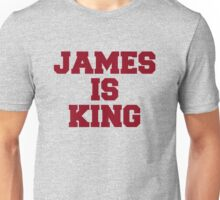 James is King Unisex T-Shirt