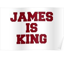James is King Poster