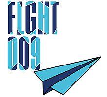 Flight 009: Blue Photographic Print