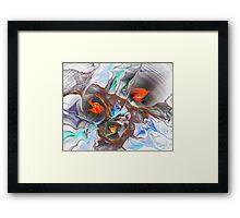 Dragon Nest Framed Print