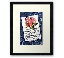 Pentecost (Gloriosa) Framed Print