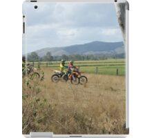 BIKE TALK iPad Case/Skin