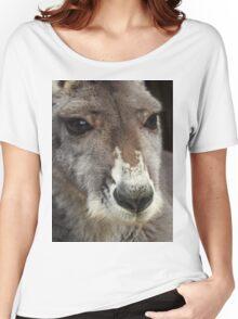 Red Kangaroo Women's Relaxed Fit T-Shirt
