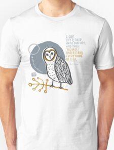 BioBlitz masked owl Unisex T-Shirt