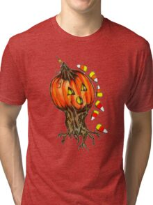 Patty's Pumpkin  Tri-blend T-Shirt