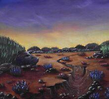 Valley of the Hedgehogs by Anastasiya Malakhova