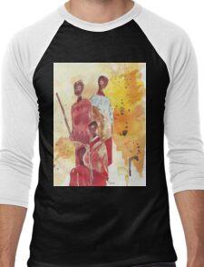 African Women - Ethnic series Men's Baseball ¾ T-Shirt