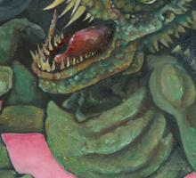 Reptilian Sticker