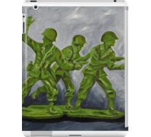 Green Army Men iPad Case/Skin