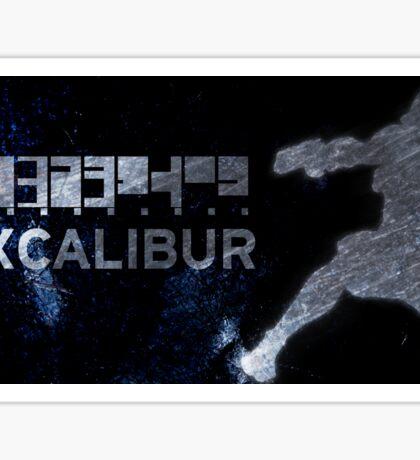 Excalibur Sticker