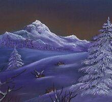 Winter Night by Anastasiya Malakhova