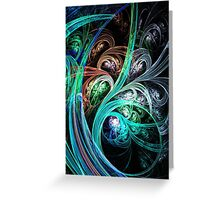 Night Phoenix Greeting Card