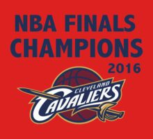 Cleveland Cavaliers 2016 NBA Champions vs. Golden State Warriors One Piece - Long Sleeve
