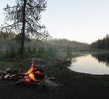 Campfire I - at Moose Creek Reservoir by prettymeadow
