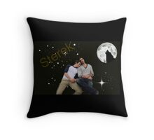 Bedtime Sterek Throw Pillow