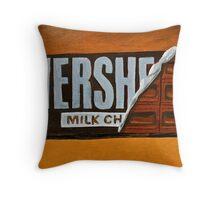 Hershey Bar  Throw Pillow