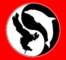 The Empire of Dorkness Ying Yang by Scott Kinnebrew