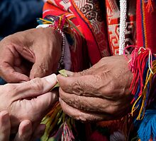 Hands Of Welcome by phil decocco
