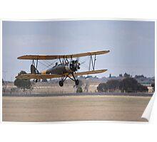 Avro Cadet, Point Cook Airshow, Australia 2014 Poster
