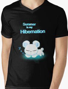 Summer is my hibernation  Mens V-Neck T-Shirt