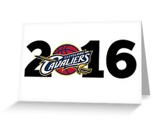 Cleveland Cavaliers Champions!! FINALLY NBA CHAMPS Greeting Card