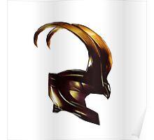 Helmet of Loki Poster