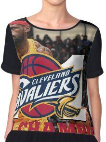 Cleveland Cavaliers Champions!! FINALLY NBA CHAMPS Chiffon Top