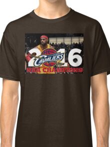 Cleveland Cavaliers Champions!! FINALLY NBA CHAMPS Classic T-Shirt