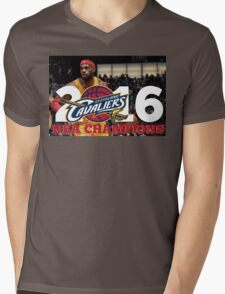 Cleveland Cavaliers Champions!! FINALLY NBA CHAMPS Mens V-Neck T-Shirt