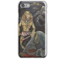 Killer Lion iPhone Case/Skin