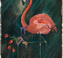 Rejected Flamingo by Stephen Ray