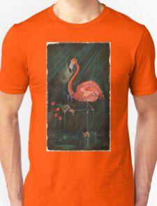 Rejected Flamingo Unisex T-Shirt
