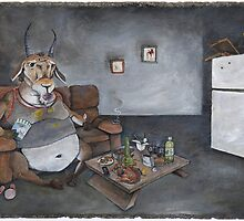 Gluttonous Gazelle by Stephen Ray