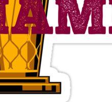 Cleveland basketball 2016 Champions Sticker