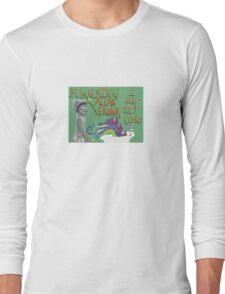 Allan Frank Dragon Design  Long Sleeve T-Shirt