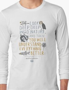 BioBlitz Extinction Matters Long Sleeve T-Shirt