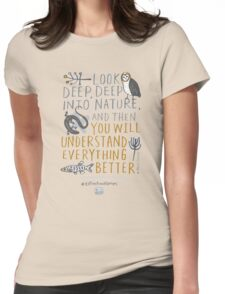 BioBlitz Extinction Matters Womens Fitted T-Shirt